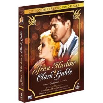 Pack Jean Harlow + Clark Gable: Saratoga + Tierra de pasión - DVD