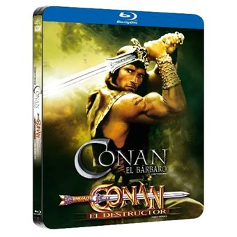 Conan el bárbaro 1-2 - Steelbook Blu-Ray
