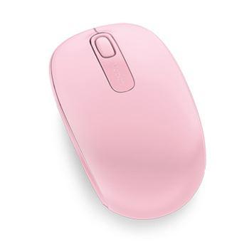 Ratón inalámbrico Microsoft 1850 Rosa