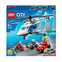 LEGO City Police 60243 Policía: Persecución en Helicóptero
