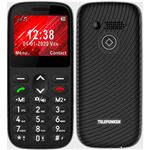 Teléfono móvil Telefunken S420 Negro