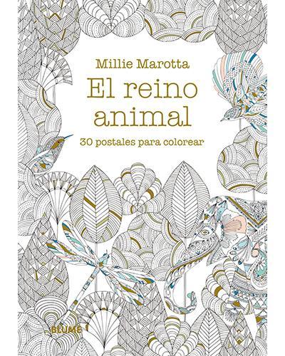 El reino animal. 30 postales para colorear - -5% en libros | FNAC