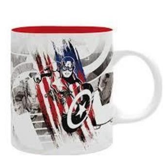 Taza Marvel Capitán América