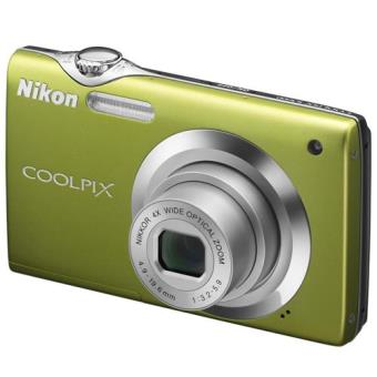 Nikon COOLPIX S3000 Verde Kit Cámara Digital