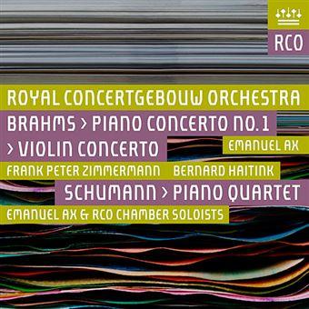 Brahms - Piano Concerto No. 1 / Schumann - Piano Quartet