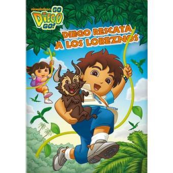 Go Diego Go!: Diego rescata a los lobeznos - DVD