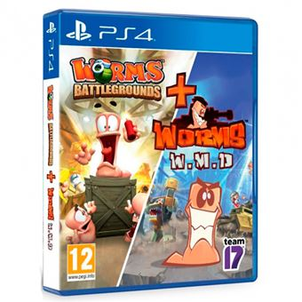 Worms Battlegrounds + Worms WMD - PS4