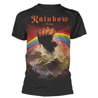 Camiseta Rainbow Rising Negro L