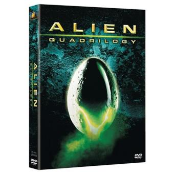 Pack Alien: Quadrilogy - DVD