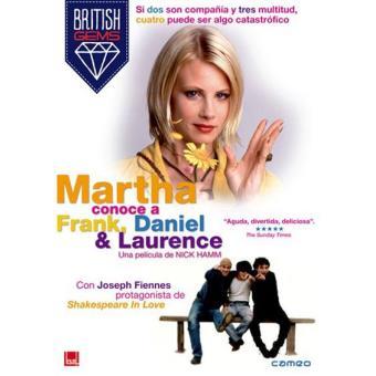 Martha conoce a Frank, Daniel & Laurence - DVD