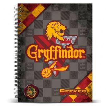 Cuaderno A4 Harry Potter Quidditch Gryffindor