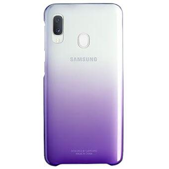 Funda Samsung Gradation Cover Violeta para Galaxy A20e