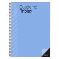 Cuaderno profesor Additio Tríplex Azul