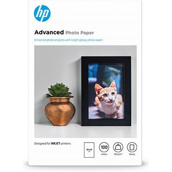 HP Q8692A FOTO AVANZADO 10X15 100 Papel fotográfico