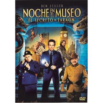 Noche en el museo 3. El secreto del faraón - DVD