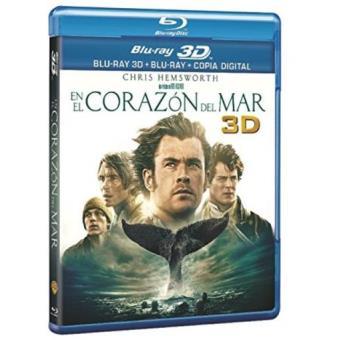 En el corazón del mar - Blu-Ray + 3D