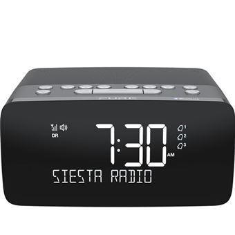 Reloj despertador Pure Siesta Charge Grafito