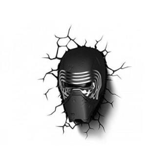 Lámpara decorativa pared 3D Star Wars Kylo Ren