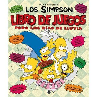 Libro de juegos para los días de lluvia - Los Simpson. Actividades