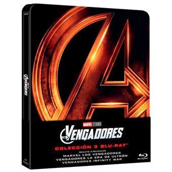 Los Vengadores: La Trilogía - Steelbook Blu-Ray