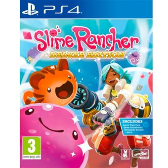 Slime Rancher Deluxe Edition PS4