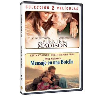 Pack Los puentes de Madison + Mensaje en una botella - DVD