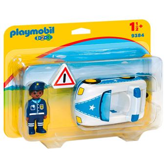 Playmobil 1.2.3 Coche de policía