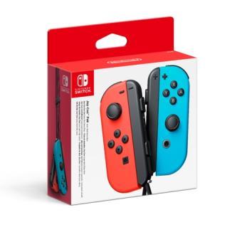 Nintendo Set Switch Joy-Con Azul/Rojo Neón Izquierda/Derecha