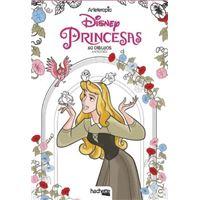 Arteterapia Disney Princesas - 60 dibujos antiestrés