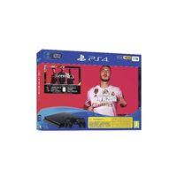 Consola PS4 Slim 1TB + FIFA 20 + FUT + PS Plus 14 Días + 2 DualShock4