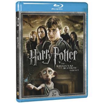 Harry Potter y las reliquias de la muerte. Parte 1 - Blu-Ray