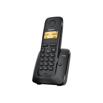 Gigaset Teléfono DECT Inalámbrico A120 Negro
