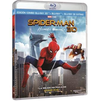 Spiderman Homecoming - Blu-Ray + 3D