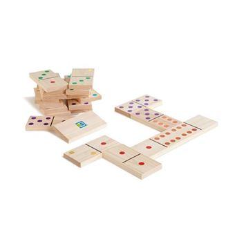 Domino coloreado gigante