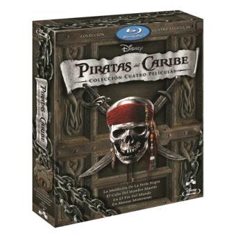 Pack Piratas del Caribe: 1-4 - Blu-Ray