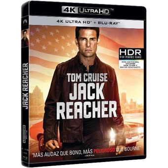 Jack Reacher - UHD + Blu-Ray