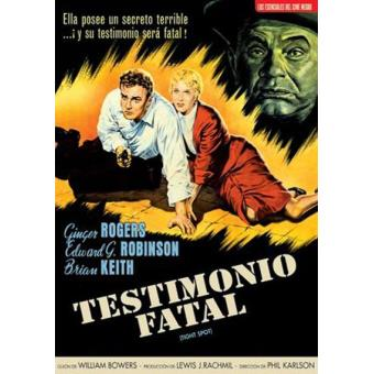Testimonio fatal (Tight Spot) - DVD