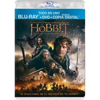 El Hobbit: La batalla de los Cinco Ejércitos - Blu-Ray + DVD + Copia digital