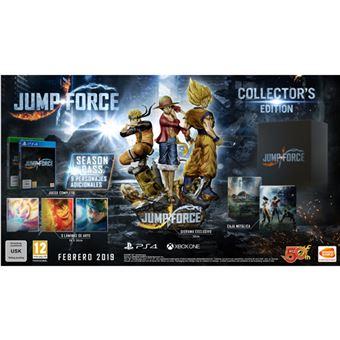 Jump Force Collector S Edition Ps4 En Llevate 10 Con Tu Reserva