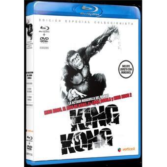 Pack King Kong - Blu-Ray + Trilogía en DVD