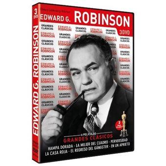 Pack grandes clásicos Edward G. Robinson - DVD