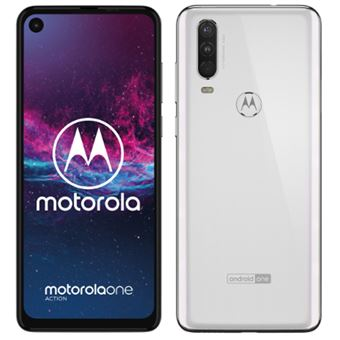Motorola Moto One Action 6,3'' 128GB Blanco