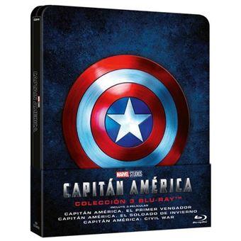 Capitán América: La Trilogía - Steelbook Blu-Ray