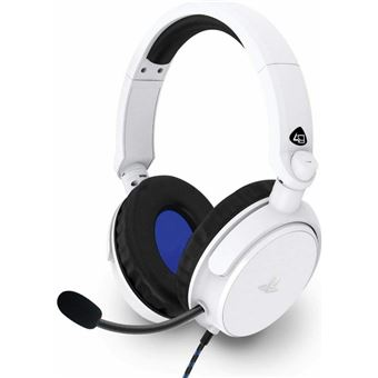Headset gaming Pro4-50S Blanco para PS4/PS5