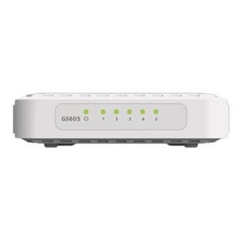 Netgear Switch de red con 5 puertos Gigabit