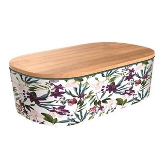 Lunchbox Chic&Mic Bamboo Deluxe Jungle Blooms