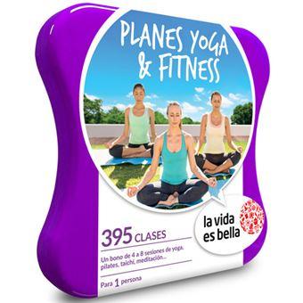 Caja Regalo La vida es bella - Planes yoga y fitness