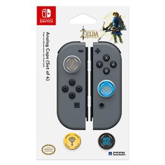 Set de 4 grips Zelda: Breath Of The Wild para Nintendo Switch