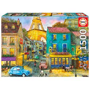 Puzzle Calles de París Educa