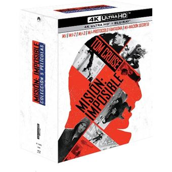 Pack Misión Imposible 1-5 - UHD + Blu-Ray